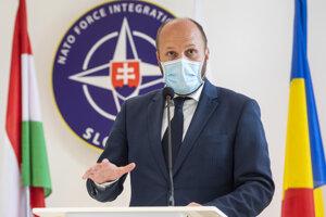 Minister obrany Jaroslav Naď (OĽaNO).