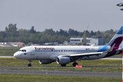 Lietadlo spoločnosti Eurowings.