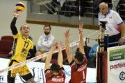 M. Sopko ml. (vľavo) verí, že bude pokračovať v Košiciach aj v ďalšej sezóne.