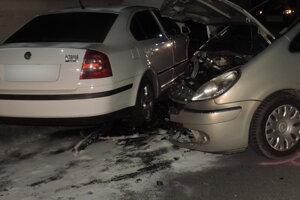 Dopravná nehoda v Rakovej.