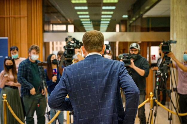 Koronavírus na Slovensku: Brífing premiéra Igora Matoviča 28.5.2020.