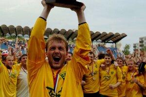 So Žilinou oslavoval Branislav Labant majstrovský titul zdomácej súťaže celkovo trikrát.