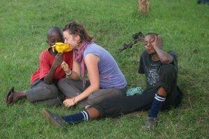 V centre pre chlapcov z ulice v Keni.