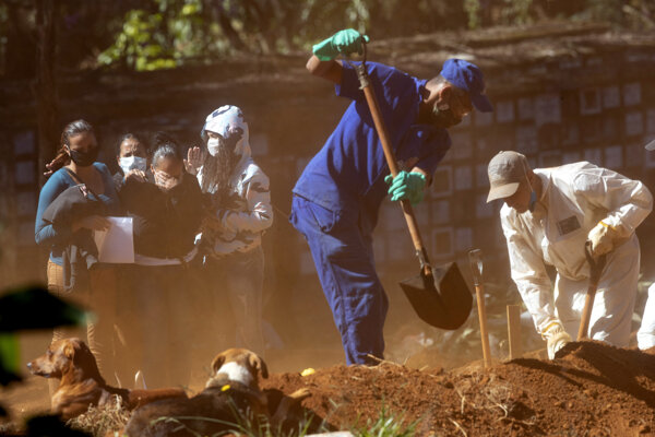 Brazília eviduje vyše 34-tisíc obetí koronavírusu.