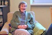 Martinčanka Anna Smatanová sa 19. mája tohto roku dožila okrúhlych sto rokov.