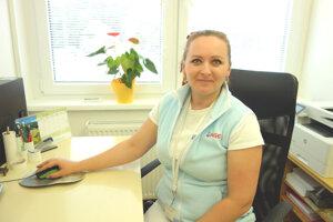Vedúca lekárne Andrea Šebová.