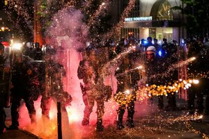 Protesty v Minneapolise