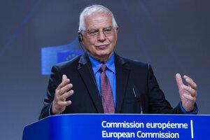 Šéf zahraničnej politiky Európskej únie Josep Borrell.