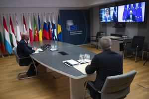 Predsedníčka Európskej komisie Ursula von der Leyenová, predseda Európskeho parlamentu David Sassoli a predseda Európskej rady Charles Michel absolovovali videokonferenciu s britským premiérom Borisom Johnsonom s cieľom vyhodnotiť stav rokovaní medzi oboma stranami o budúcej obchodnej dohode po brexite.