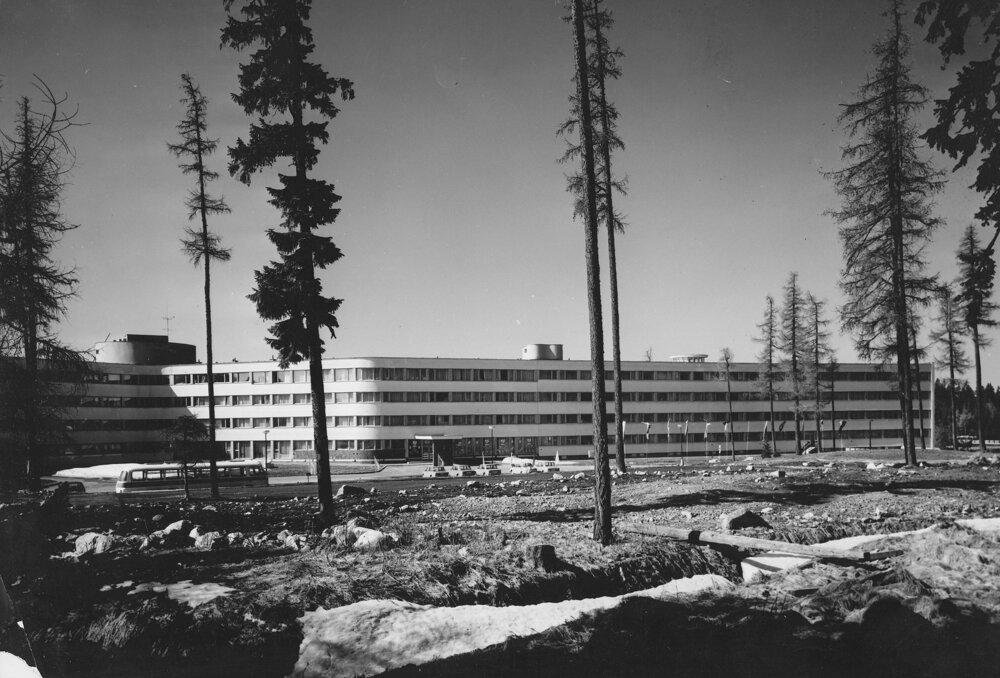 Sanatórium Helios krátko po dokončení.