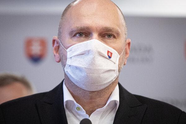 Minister hospodárstva SR a predseda strany Richard Sulík.
