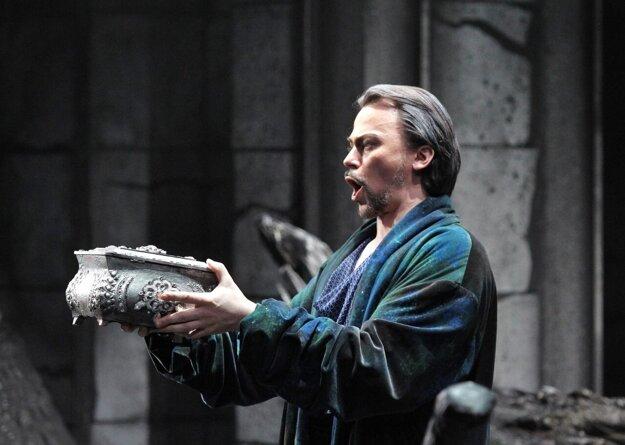 Štafan Kocán ako Filippo v Prahe.