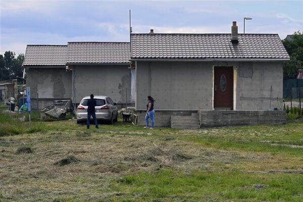 Nové domy v Rankovciach.