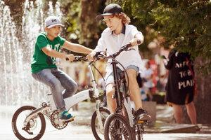 Sharvan bike by mal byť aj vo verzii s elektrickým pohonom.