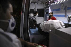 Výbuch v nemocnici spôsobil únik plynu.