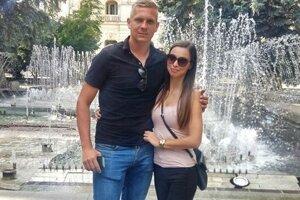 S priateľkou Nikoletou na prechádzke v Košiciach.