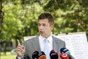 Minister dopravy Andrej Doležal.