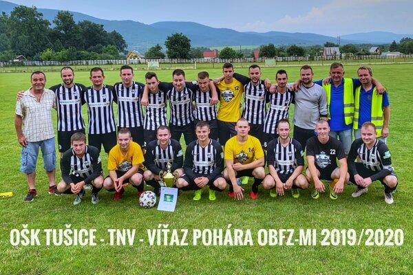 Tušice dosiahli na premiérové pohárové víťazstvo.