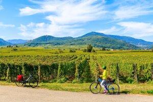 Ak sa vydáte na výlet na bicykli, niektoré vinárstva vám ponúknu aj nocľah.