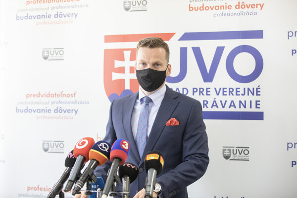 Miroslav Hlivák, predseda Úradu pre verejné obstarávanie.