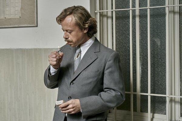 Viktor Dvořák ako Václav Havel vo filme Havel režiséra Slávka Horáka
