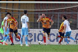 Zápas Lecce - Lazio.