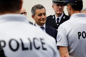 Fracúzsky minister vnútra Gérald Darmanin.