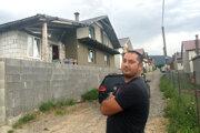 Milan Gašpar bol jeden z prvých, ktorí si postavili dom.