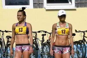 Dcéra Lucia (vľavo) amama Dana(vpravo)si to často rozdali na pretekoch ako súperky.