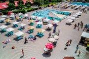 Kúpalisko Vadaš, najväčšia atrakcia mesta Štúrovo.