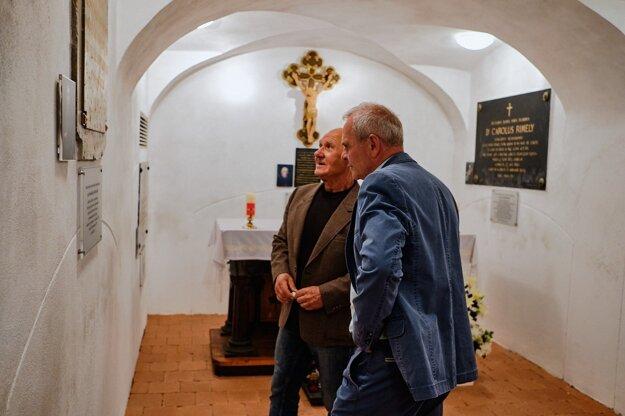 Žiarsky biskupský kaštieľ.