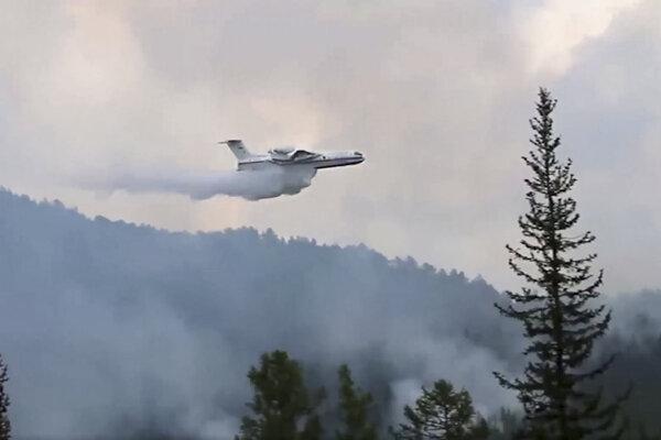 Požiare na Sibíri tento rok začali na niektorých miestach už v apríli.