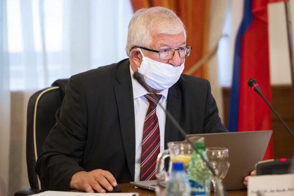 Ján Mazák, predseda Súdnej rady.
