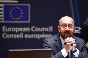 Predseda Európskej Rady Charles Michel.