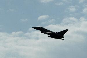 Eurofighter Typhoon/Ilustračné foto.