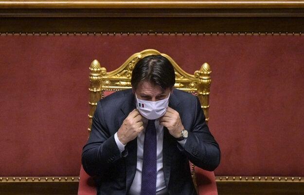Taliansky premiér Giuseppe Conte.