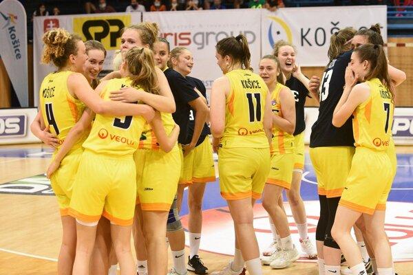 Košické juniorky zvíťazili na majstrovstvách Slovenska vo svojej kategórii.