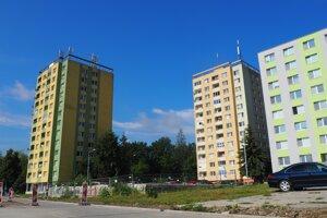 Základová doska po bytovom dome Mukačevská 7.