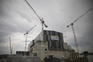 Montážna hala fúzneho reaktora ITER.