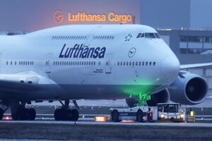 Lietadlo Boeing 747.