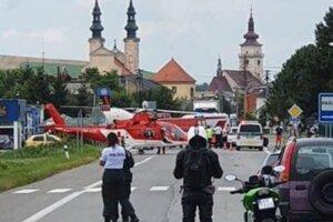 Nehoda sa stala krátko pred poludním.