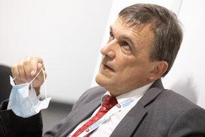 Kandidát na post predsedu Špecializovaného trestného súdu (ŠTS) Ján Hrubala počas výberového konania.