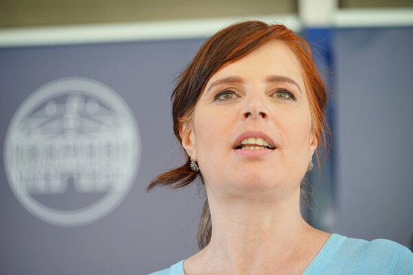 Podpredsedníčka vlády SR a ministerka investícií, regionálneho rozvoja a informatizácie SR Veronika Remišová.
