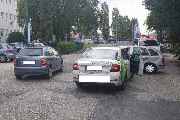 Havária áut v Trnave