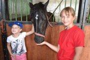 Na koňoch si v tábore môžu zajazdiť, aj sa o ne postarať.