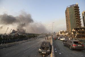 Libanonským hlavným mestom Bejrút otriasla masívna explózia.
