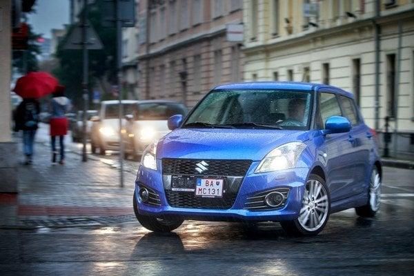 Swift Sport je športové auto, ktoré bude manželka svojmu drahému tolerovať bez výčitiek.