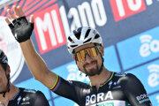 Peter Sagan pred Miláno - San Remo 2020.
