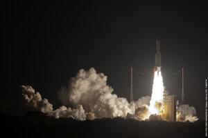 Nosná raketa Ariane 5.