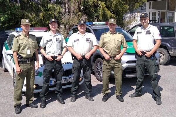 Slovenskí a poľskí policajti spolupracujú.